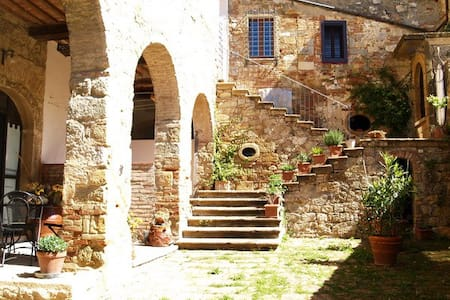 Arianna Apartm. in Medieval village - Lejlighed