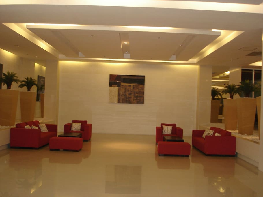 Lobby area of the residence.