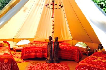 Errekondoa: Lodge 2 (tente inuit) - La Bastide-Clairence - Bed & Breakfast