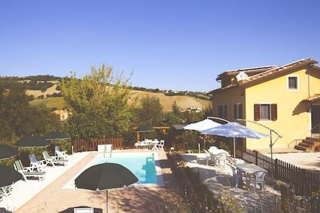 Villa Sabrina-super Comfort - San Ginesio - Talo