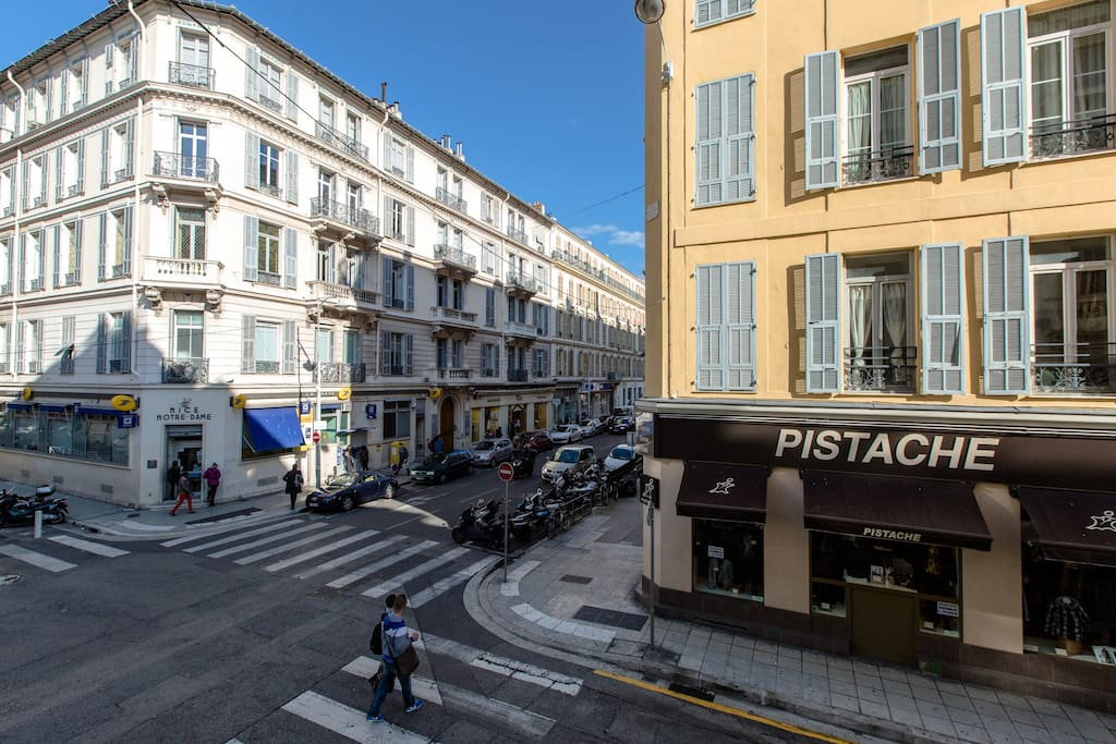 Beautiful apt in the center of Nice