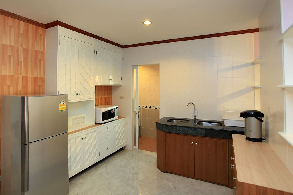 Pantry of twobed room suite