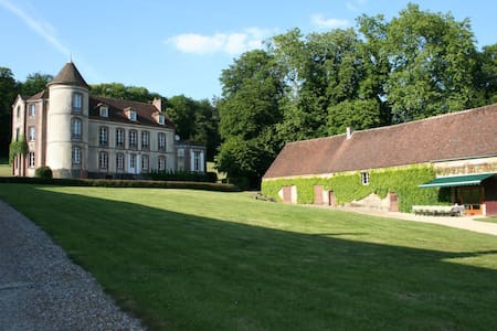 Chateau 90 min from Paris, 16 brs - L'Hôme-Chamondot