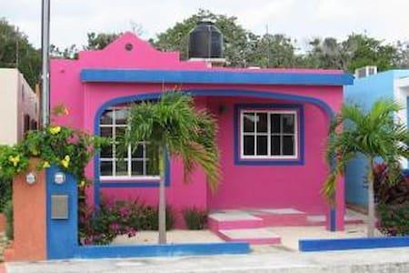 Casa Rosa- Chan-Chemuyil - Chemuyil - House