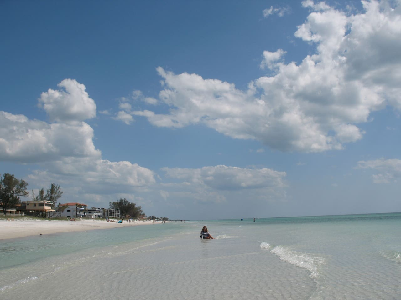 It's all about getting closest to the nicest beach on the Gulf coast!