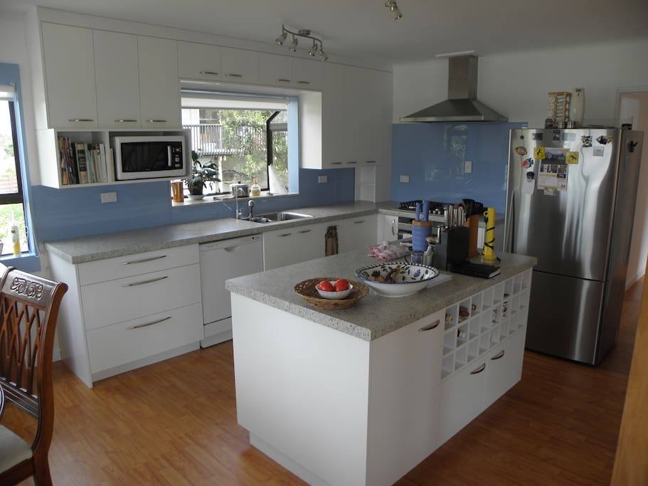 The kitchen is the hub of open-plan living