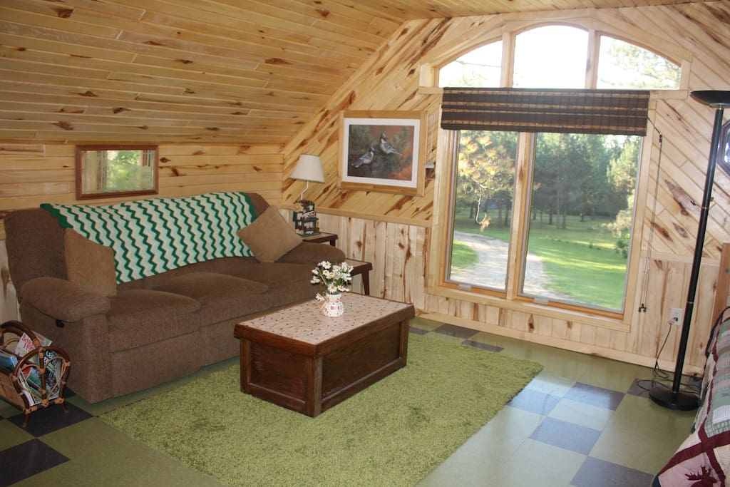 Fall Winter Lake Loft Vacation Mn Lofts For Rent In