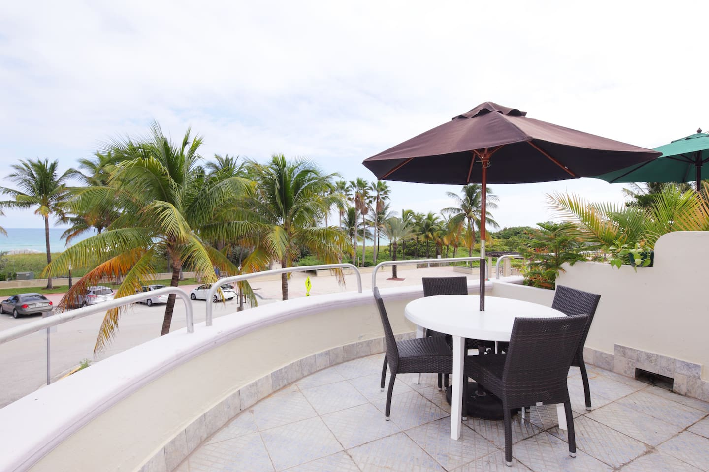 "The ""Million dollar view"" private terrace, imaging you enjoying a great sunrise,sunset or just a tan."