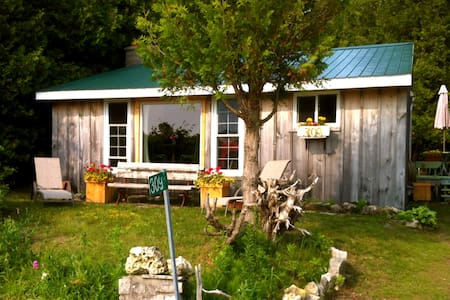 Cozy 3 BR Cottage Great Sunsets - Srub