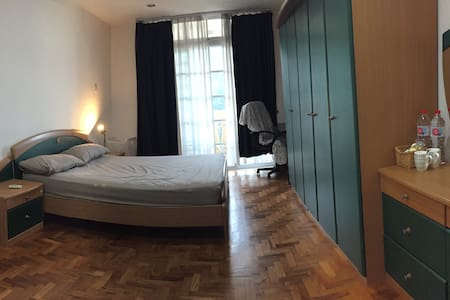 Big room w ensuite bath & balcony, great location - Apartamento