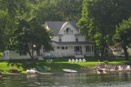 Historic 1880s Cottage on Conesus Lake - Casa