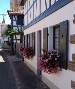 Gîte Kelsch, ensoleillé,calme - Sundhouse - House