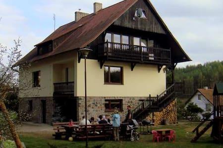 Pokój w pensjonacie -Leśniczówka Wieżyca- Kaszuby - Szymbark