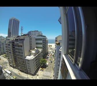 Quarto Bahamas Copacabana Vista Mar - Apartamento