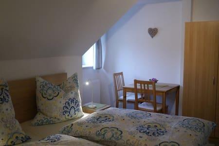 Ferienwohnung mit Bergblick - Apartment