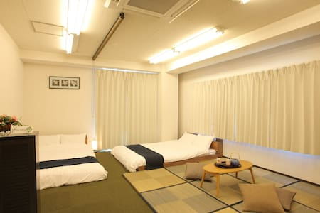 Namba 日本橋 place con. Floor4 - Appartement