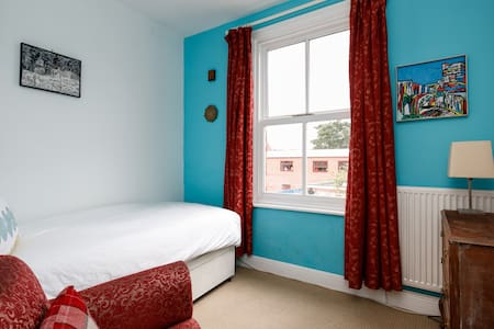 Single light room with garden view - Urmston