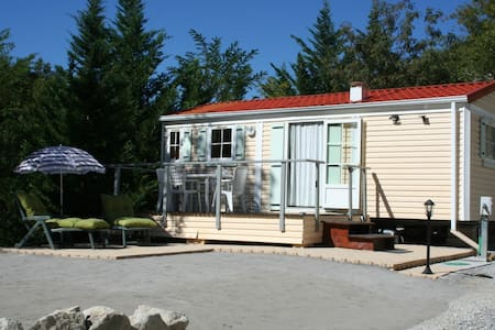 Charming 2-bedroom modular home - Inny