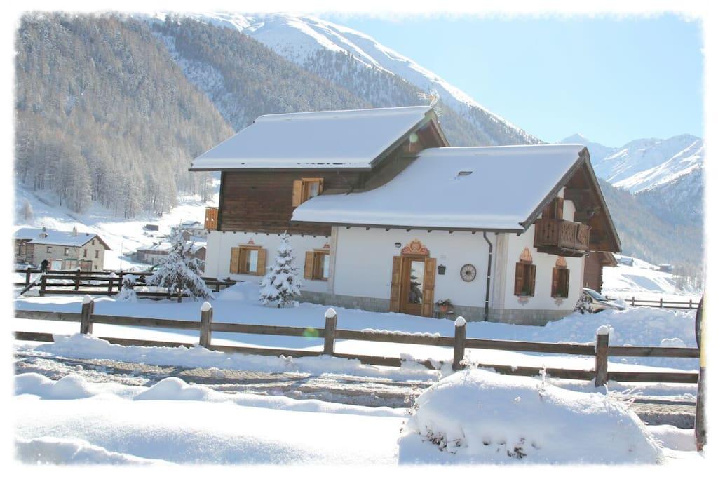 La Baita tra le Alpi