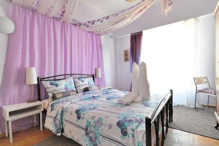 PRIVATE BEDROOM BREAKFAST TV WI-FI - Athens - Bed & Breakfast