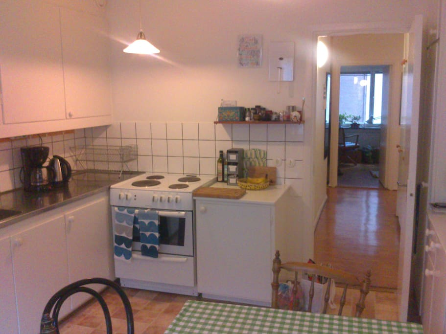 Fully equipped kitchen, if you feel like cooking at home instead.