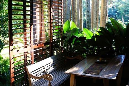Brookside - Rainforest Hideaway - Currumbin Valley