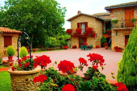 farm holiday Umbria italy Relax  - Gubbio - Huoneisto