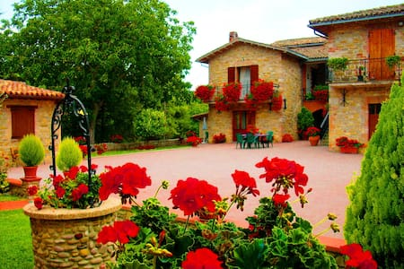 farm holiday Umbria italy Relax  - Gubbio - Wohnung