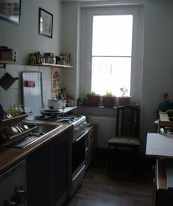 Großes Zimmer Potsdam Innenstadt - Potsdam - Apartment