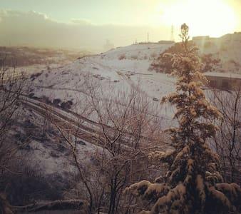 Essiz kış manzarasi - Apartamento