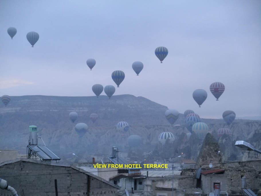 VİEW FROM TERRACE LOBBY