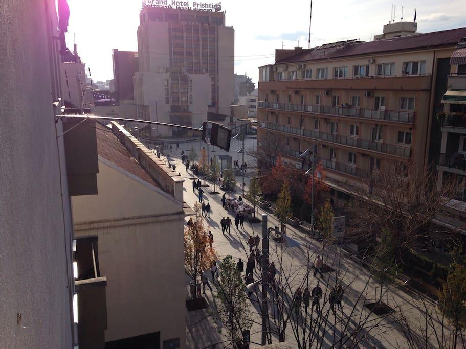 Studio apartment, in Prishtina