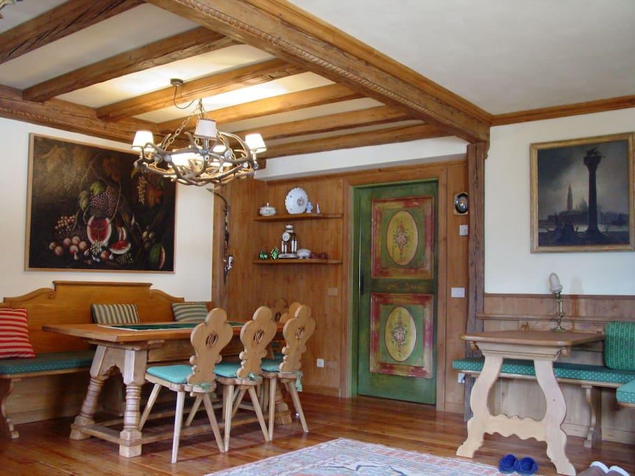 Italian Master Craftsmen Interior dining set and reading desk/kids table