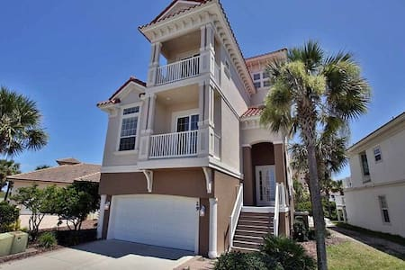 NEW 5 BR with Pool! Walk to BEACH!!