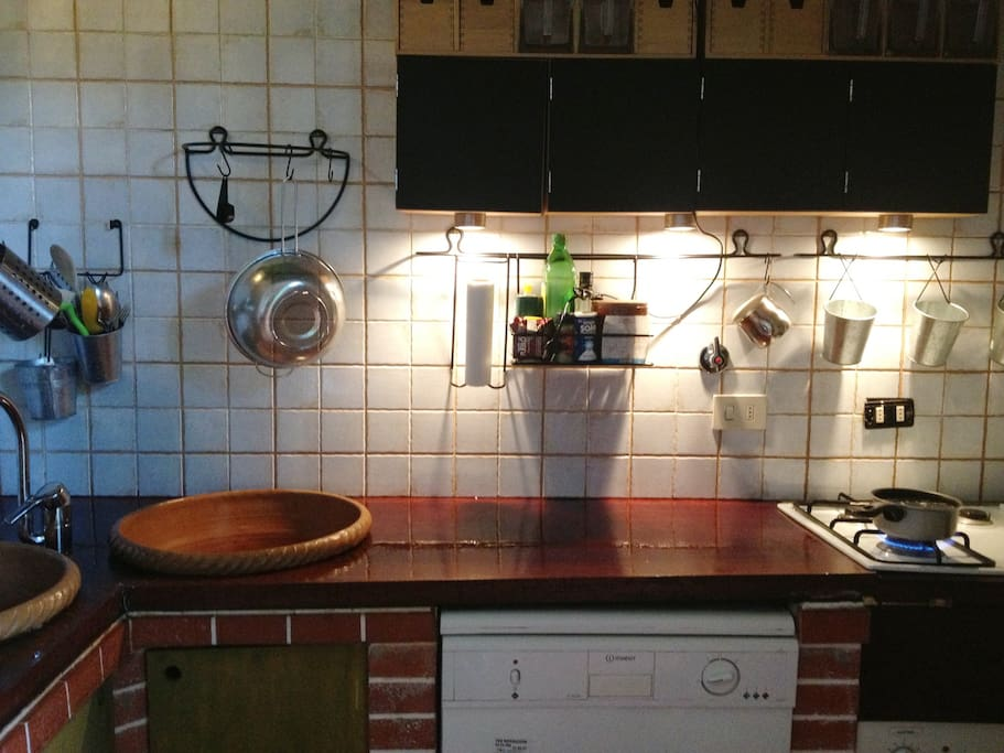 Make your self at home with a fully furnished kitchen