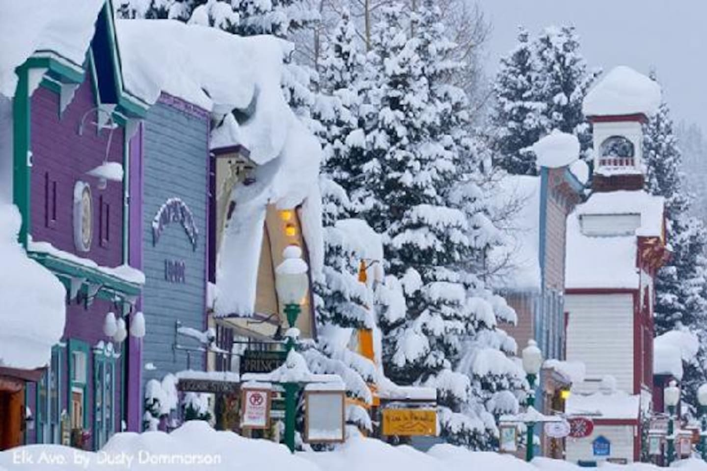 Downtown Crested Butte - free shuttle outside door takes you to downtown every 15 minutes