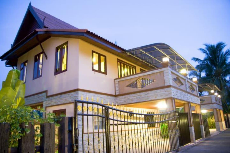 Villa Ban Nang Faa near krabi