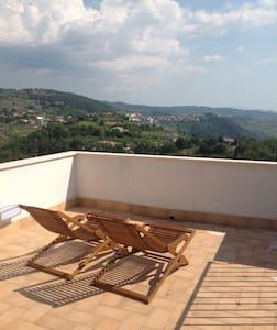 320 Panoramic view, roof terrace! - Arpino - Rumah