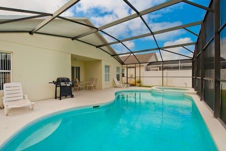 5Br/3Ba Villa w/ Pool Near Disney - Σπίτι