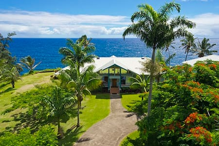 PALI LANI - TRUE OCEANFRONT LUXURY - Hakalau - Ház