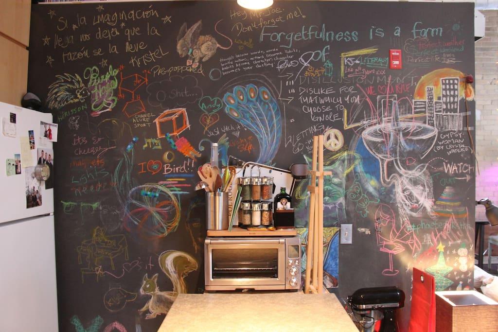 Kitchen Art Wall