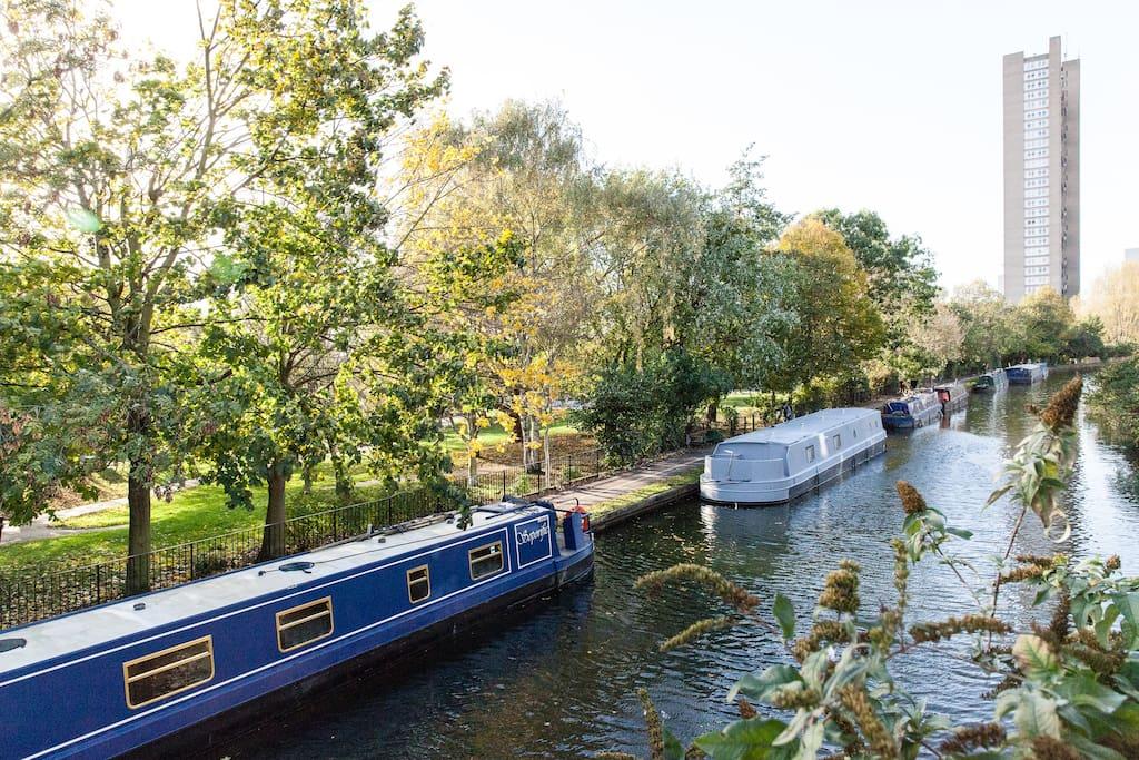 Extraordinary Canal-Side Triplex