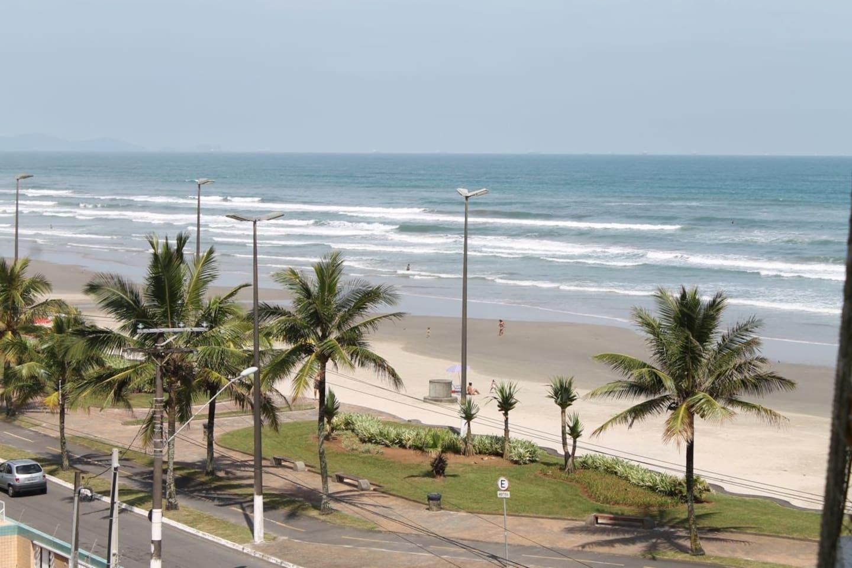 View from the balcony/ Vista da varanda