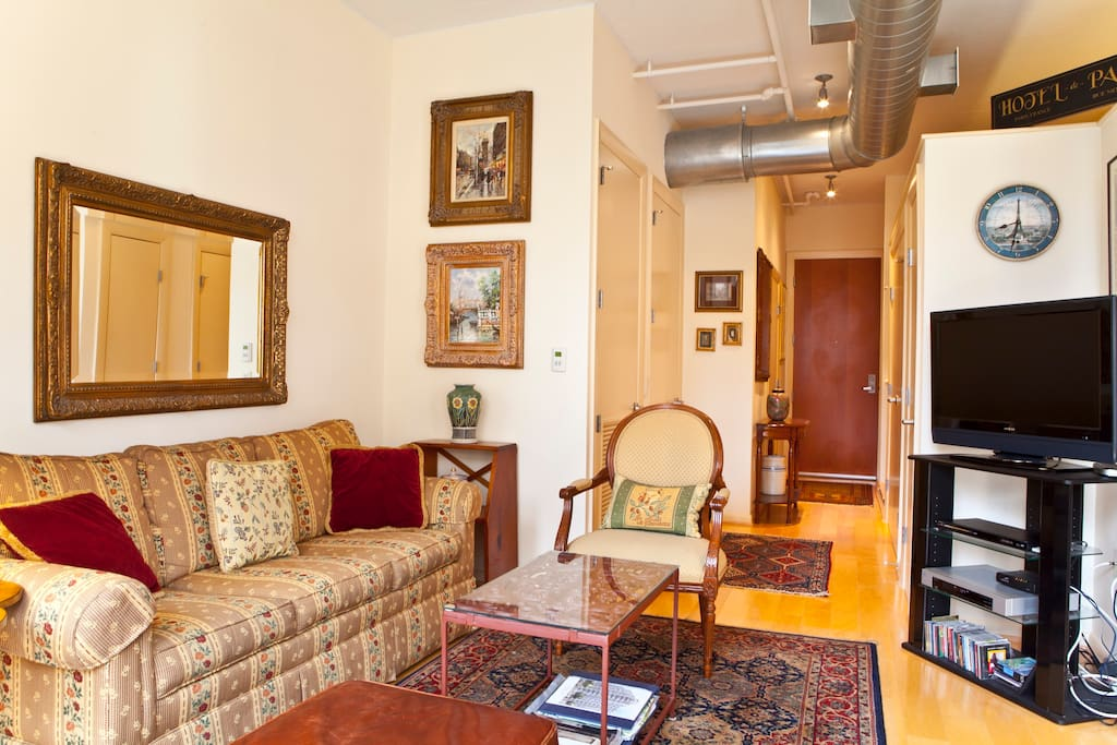 Furnished Luxury Loft Condo