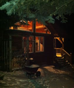 Little Cabin at Rocky Top Farms - 엘스워스(Ellsworth) - 통나무집