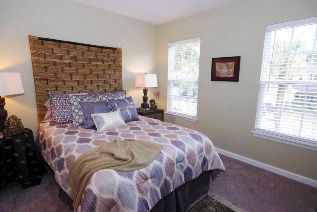 Full size bed in Bedroom 3