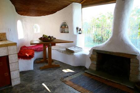 Clay cottage in Nessonas - Larisa