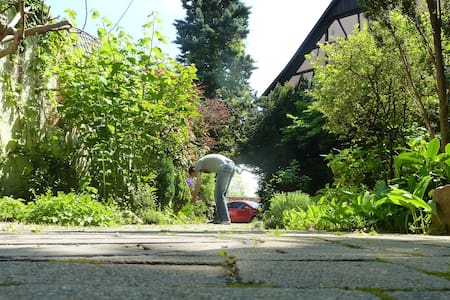 Calm and cosy appt - lovely garden - Turckheim - Wohnung