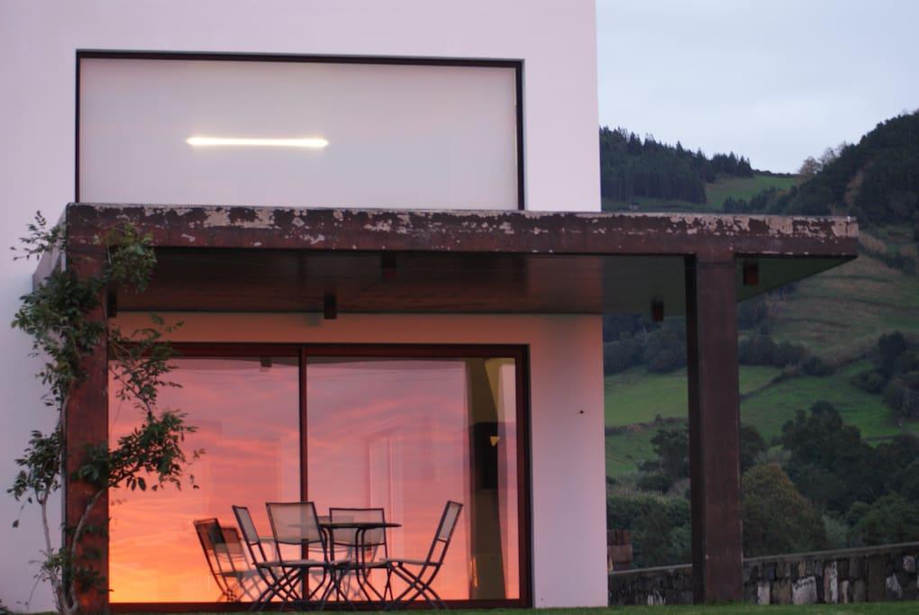 Sunset mirror  Photo by Mathias Alder (guest)
