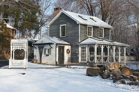 Cottage on Historic Gentleman Farm - Chester Springs - Rumah